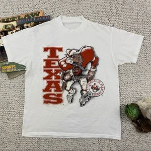 Texas Longhorns vintage single stitch t-shirt